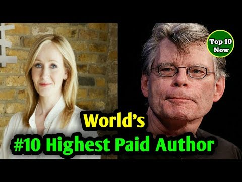 ►The World's Highest-Paid Authors 2017