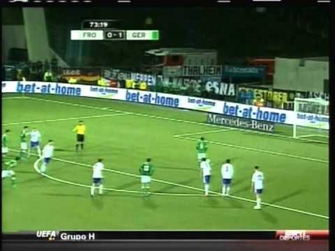 2013 (September 10) Faroe Islands 0- Germany 3 (World Cup Qualifier)