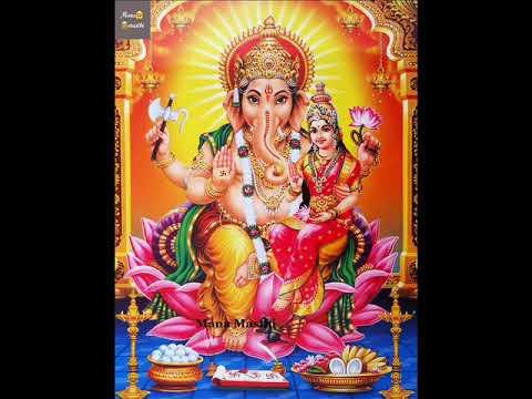 Lakshmi Ganapathi Stotram   Lakshmi ganapathi maha mantra chanting