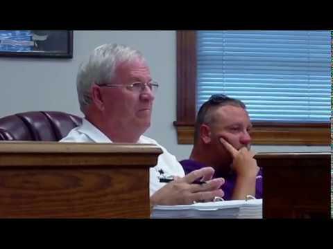 Dillon County Council Regular Meeting 8-23-17