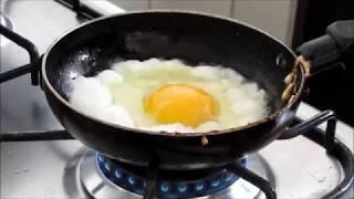 Dica pra fritar ovos sem grudar