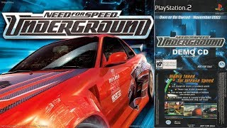 Will It Boot?! Need For Speed Underground Early Test Demo In HD [Episode 17]