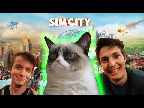 GRUMPY CAT ATTACK - On galère sur Sim City avec BeastModeIII