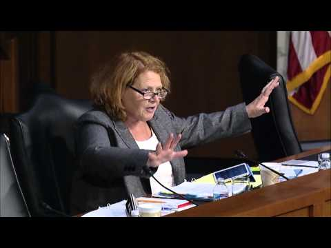 Heitkamp Talks about Child Nutrition During Senate Agriculture Committee Hearing