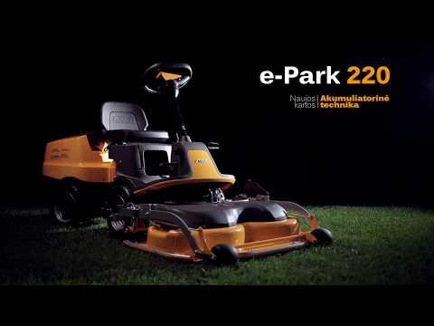 Stiga E-Park 220