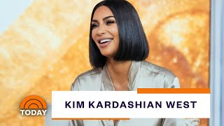 Kim Kardashian West Dishes On Skims, Studying Law And Life At Home | TODAY