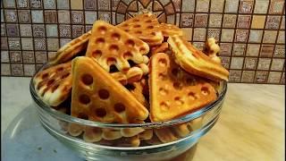 Печенье в форменной сковороде.