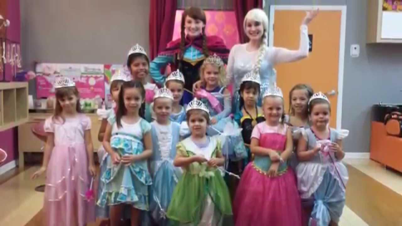 Giggles Kids Salon Spa Parties Magical Princess Party