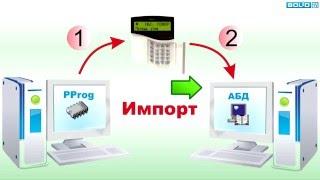 Импорт и экспорт конфигурации С2000М в/из АРМ Орион Про