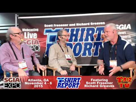T-Shirt Report SGIA 2015 - Interview with Rich Hoffman - M&R Companies.