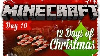 """CANDY CANES"" 12 Days of Christmas Minecraft Special - DAY 10"