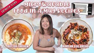 Microwavable Food In A Mug Recipes   Eatbook Cooks   EP 31
