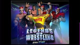 Legends of Wrestling - Nintendo Gamecube