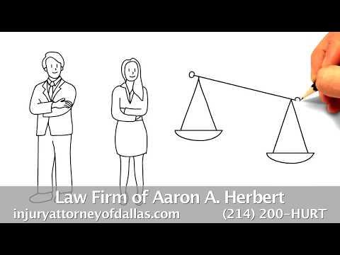 Dallas Personal Injury Attorney (214) 200-HURT Car Accident Attorney Aaron Herbert