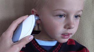 инфракрасный ушной термометр. Цифровой термометр для ребенка. Как измерить температуру ребенку