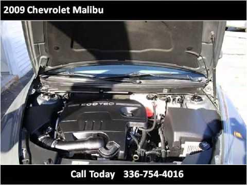2009 chevrolet malibu used cars winston salem nc youtube. Black Bedroom Furniture Sets. Home Design Ideas