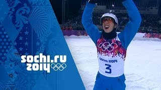 Freestyle Skiing Aerials - Men's Final - Anton Kushnir Wins Gold | Sochi 2014 Winter Olympics