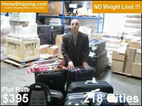 $395 Flat Rate shipping No weight limit !!! A Solution to airline baggage Fees and Charges