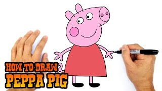 How to Draw Peppa Pig- Art for Beginners