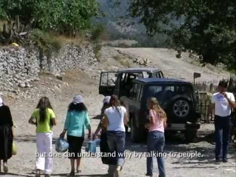 Lips, eyes, ears. A journey through the Albanian Alps