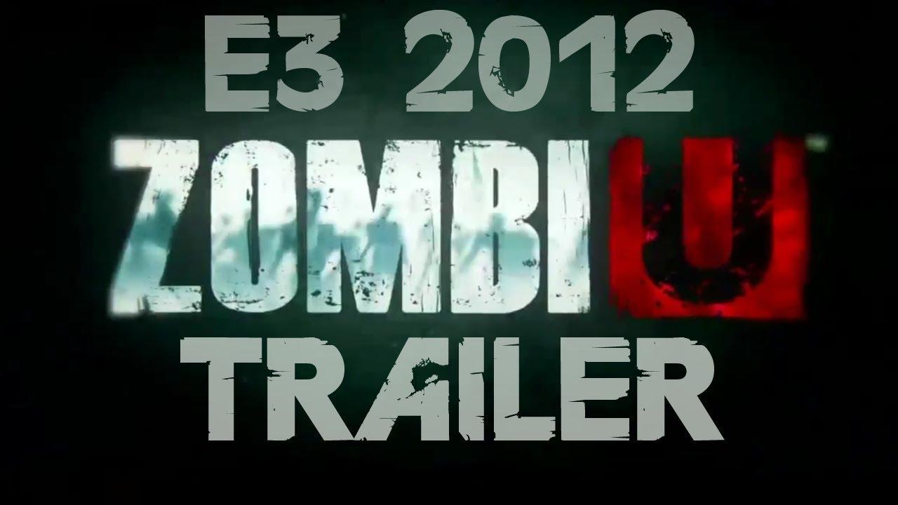 Wii U Game Trailer : Zombiu official trailer e hd wii u youtube