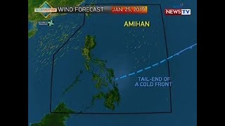 QRT: Weather update as of 5:58 p.m. (Jan. 25, 2019)