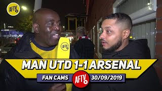 Man United 1-1 Arsenal | Big Up VAR & Big Up Aubameyang, The Best Striker In The World! (Troopz)