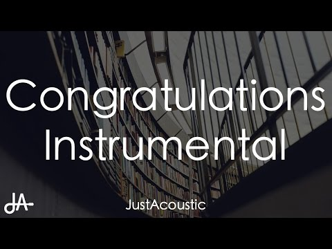 Congratulations - Post Malone ft. Quavo (Acoustic Instrumental)