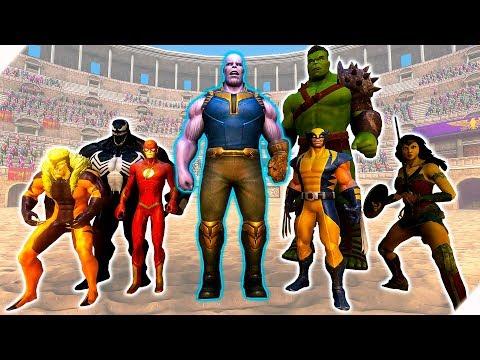 ТАНОС и БИТВА СУПЕРГЕРОЕВ Игра Ultimate Epic Battle Simulator