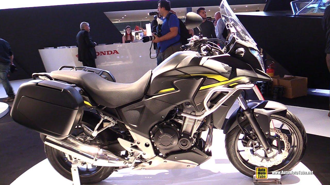 Honda cbx 500 review - 2015 Honda Cb500x Travel Edition Walkaround 2014 Eicma Milan Motorcycle Exhibition Youtube