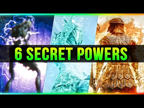 Skyrim 5 Secret Powers That Nobody Seems To Use!