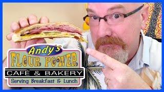 The Cuban Sandwich - Andy's Flour Power Cafe & Bakery - Florida