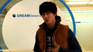 message taecyeon for dream smile dream medial group