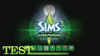 [Test] Les Sims 3 : Super-pouvoirs (PC FR)