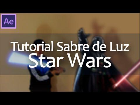Efeitos Adobe After Effects - Tutorial: Sabre de Luz do Star Wars