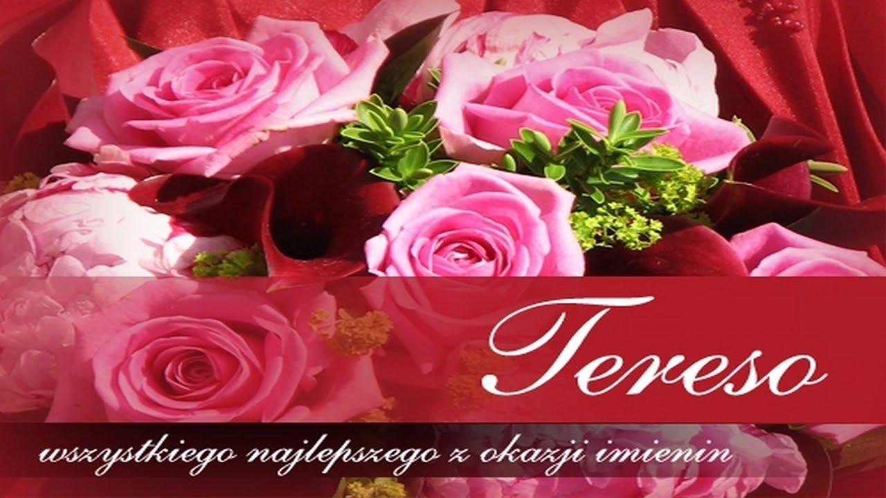 życzenia Imieninowe Dla Teresy