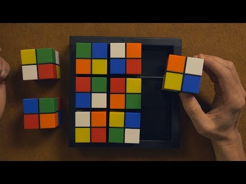 Color Cube Sudoku Gameplay | ASMR