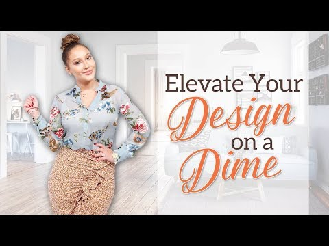 WEB EXCLUSIVE: Elevate Your Design on a Dime!