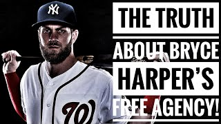The TRUTH About BRYCE HARPER'S FREE AGENCY! - Deep In Stats