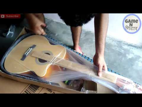 Kadence equalizer guitar unboxing from Amazon (39 inches)