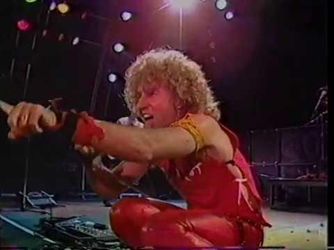HSAS Live 1983 Sammy Hagar, Neal Schon, With Commercials (Part 1)