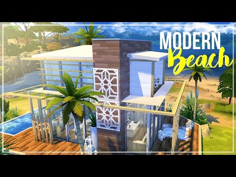 Sims 4 | House Build: Modern Beach House