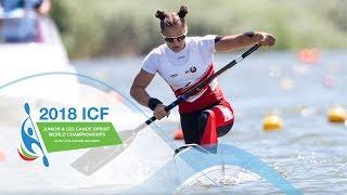 2018 ICF Canoe Sprint Junior & U23 World Championships Plovdiv / Day 2: Semis, B Finals