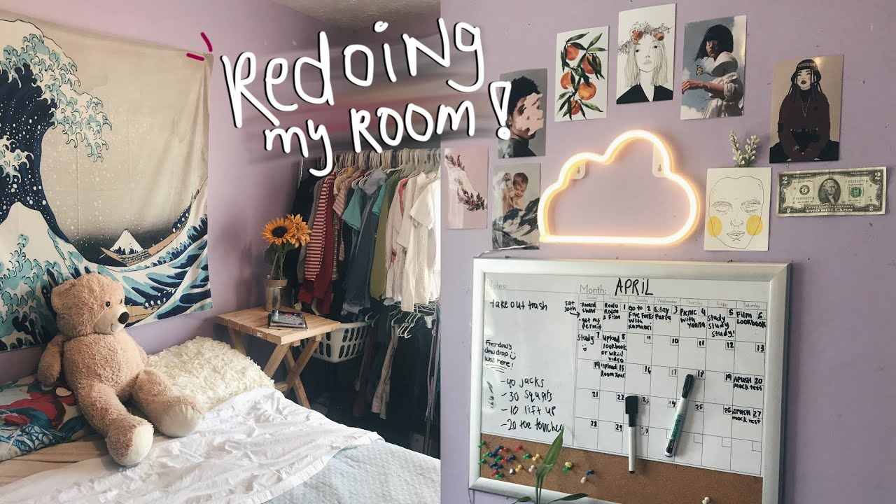 redecorating my room 2019 | my artsy room makeover (VSCO inspired)