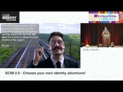 CIS 2016 Wednesday, June 8- Choose your own Identity Adventure- Kelly Grizzle