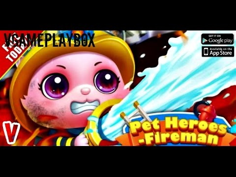 pet-heroes:-fireman-(by-libii)-ios-/-android-gameplay-video
