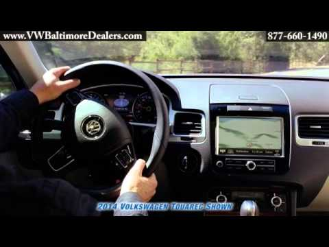 New 2014 VW Volkswagen Touareg interior Owings Mills Baltimore MD