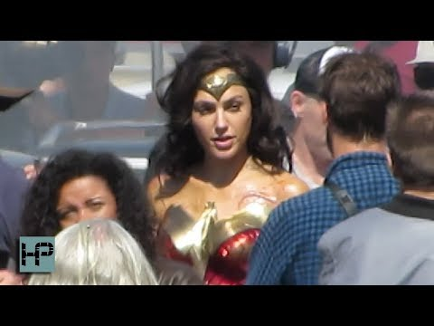 'Wonder Woman 1984'  Gal Gadot Back in THE COSTUME Filming Riot