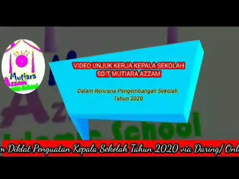 Video Unjuk Kerja Kepala Sekolah Tahun 2020_ Rencana Pengembangan Sekolah ( RPS)