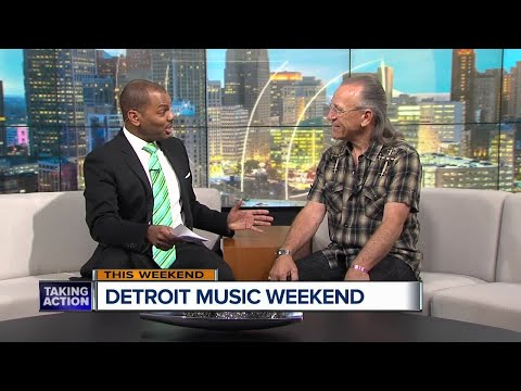 Mark Farner pays a visit to Broadcast House before Detroit Music Weekend